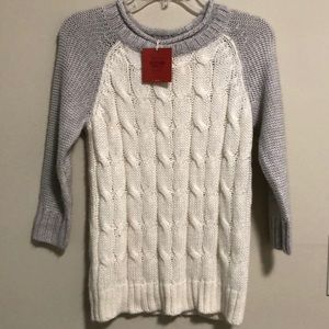 Massimo Supply Co  Sweater Cable Knit SZ XS New!